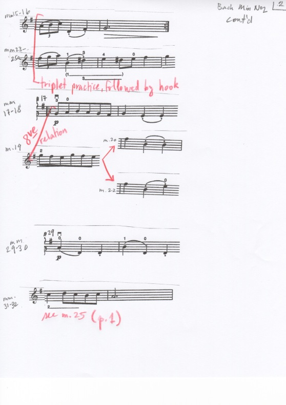 Bach Min. No2 Prac Part p2
